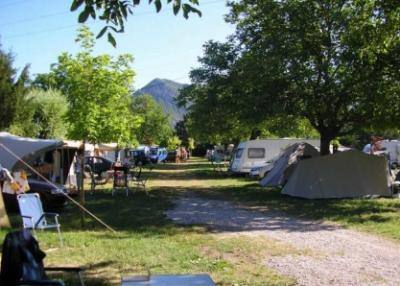 Camping Le Riou Merle, Die