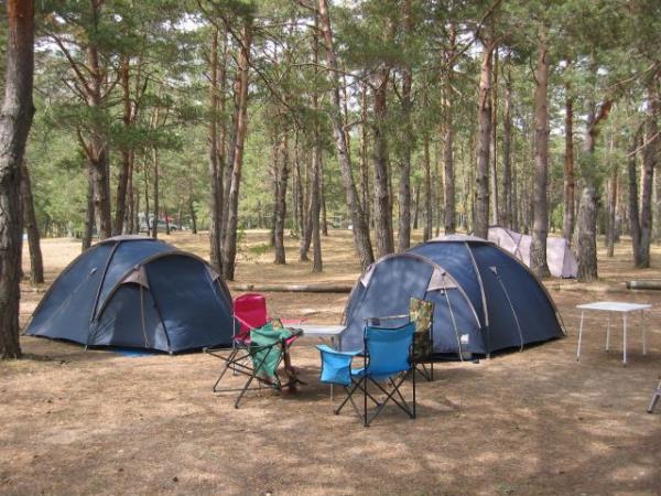 Camping Municipal De Carajuan, Rougon