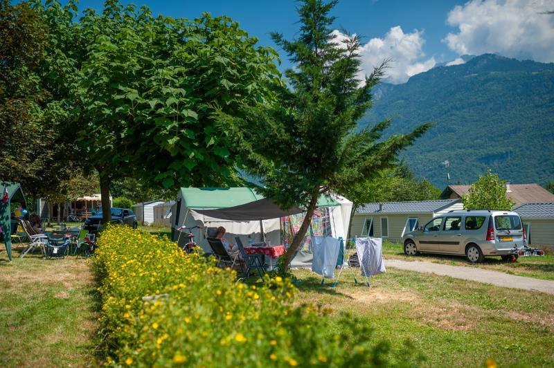 Camping La Ferme, Lathuile