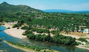 Camping Le Riviera, Sampzon