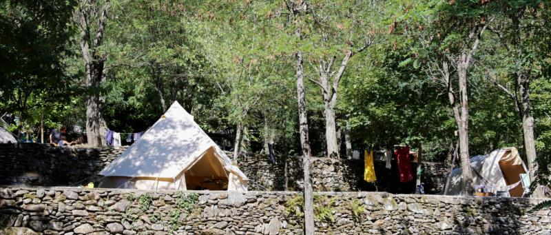Camping La Surre, Chambonas