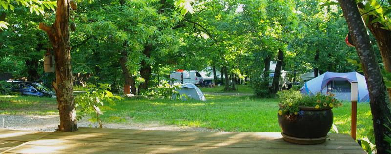 Camping la Châtaigneraie, Gravieres