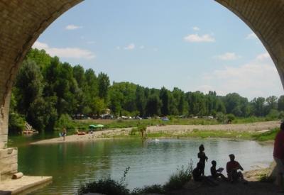 Camping La Plage, Saint-André-de-Roquepertuis